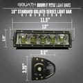 Goliath Series Double Row LED Light Bar LED headlight kit  AutoLEDTech Colorwerkz Oracle Starry Night Flashtech