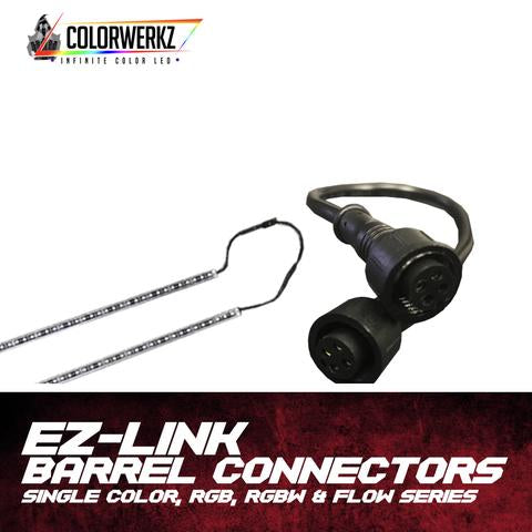 EZ Link Butt Connectors LED headlight kit AutoLEDTech Colorwerkz Oracle Lighting Trendz Flow Series Flashtech