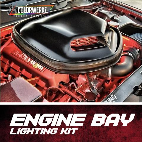 Engine Bay LED Lighting Kit (RGB|RGBW|Flow Series) LED headlight kit AutoLEDTech Colorwerkz Oracle Lighting Trendz Flow Series Flashtech