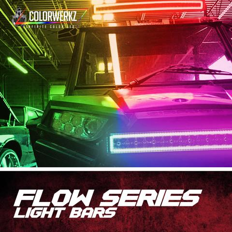 Color-Chasing LED Light Bars LED headlight kit  AutoLEDTech Colorwerkz Oracle Starry Night Flashtech