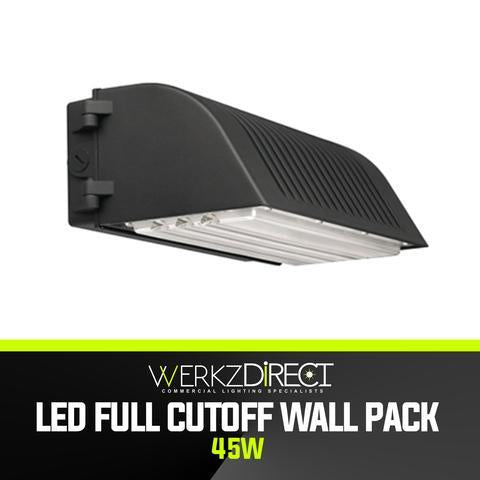 LED Wall Pack Light - Full-Cutoff (45W) - PanhandleLEDs Commercial LED lighting