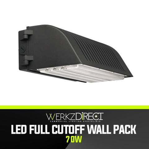 LED Wall Pack Light - Full-Cutoff (70W) - PanhandleLEDs Commercial LED lighting