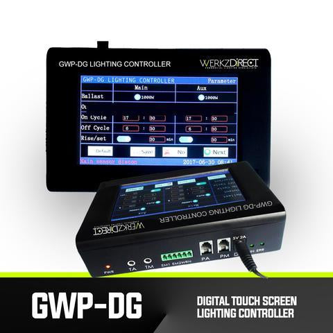 Digital Touch Screen LED Grow Lighting Controller - GWP-DG - PanhandleLEDs Commercial LED lighting
