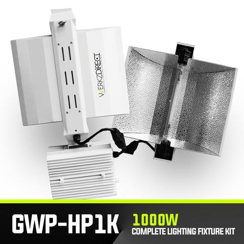 LED Grow Lighting Fixture - GWP-HP1K 1000W Complete Kit - PanhandleLEDs Commercial LED lighting