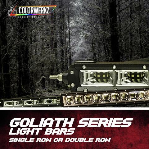 Goliath Series Single Row Light Bars LED headlight kit  AutoLEDTech Colorwerkz Oracle Starry Night Flashtech