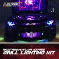 Grill Lighting LED Strips Kit (RGB|RGBW|Flow Series) LED headlight kit AutoLEDTech Colorwerkz Oracle Lighting Trendz Flow Series Flashtech RGBHaloKits LED Concepts