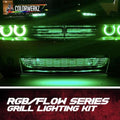 Color-Chasing Grill LED Lighting Kit (Flow Series) LED headlight kit  AutoLEDTech Colorwerkz Oracle Starry Night Flashtech
