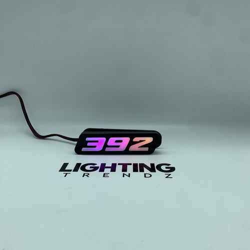 Dodge Mopar 392 SRT LED Badge Emblem Logo (Flow Series)