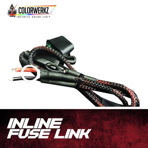 Inline Fuse Link LED headlight kit  AutoLEDTech Colorwerkz Oracle Starry Night Flashtech