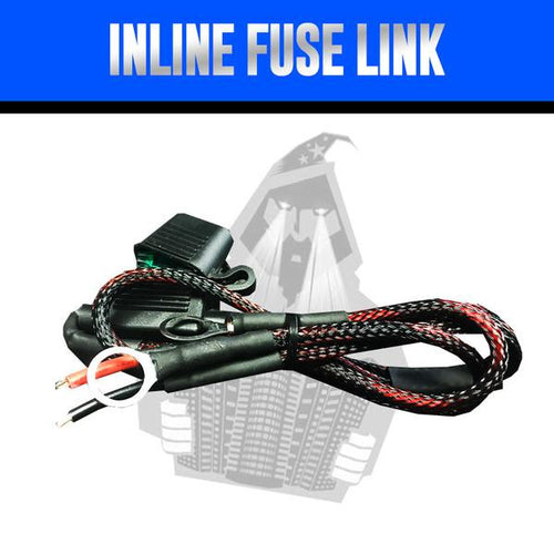 Inline Fuse Link LED color chasing headlight halo kit  AutoLEDTech & Colorwerkz