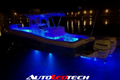 120W Double Rear Transom Color-Changing LED Marine Light (RGB) LED headlight kit AutoLEDTech Colorwerkz Oracle Lighting Trendz Flow Series Flashtech RGBHaloKits LED Concepts