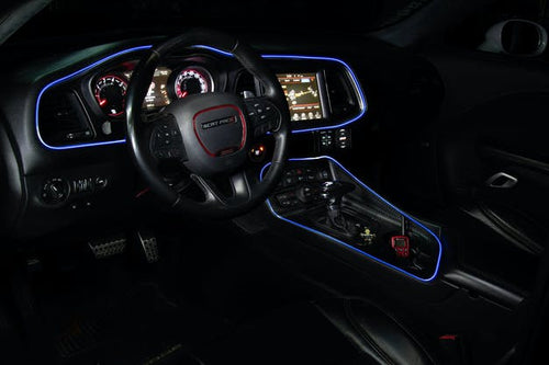 RGB LED Color-Changing Interior Dash Trim Lighting Tube Kit