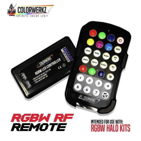 RGB/RGBW Handheld Controller LED headlight kit AutoLEDTech Colorwerkz Oracle Lighting Trendz Flow Series Flashtech