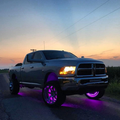 Color-Changing RGB LED Wheel Lights Kit LED headlight kit AutoLEDTech Colorwerkz Oracle Lighting Trendz Flow Series Flashtech