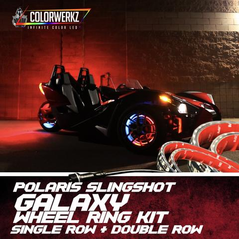 Polaris Slingshot Wheel Light Kit (RGBW) LED headlight kit  AutoLEDTech Colorwerkz Oracle Starry Night Flashtech