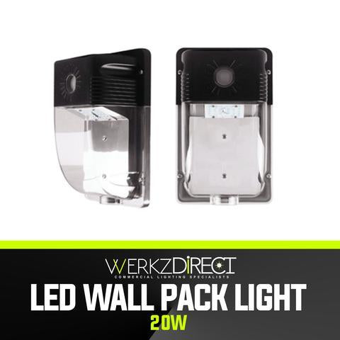 LED Wall Pack Light - Small (20W) - PanhandleLEDs Commercial LED lighting