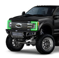 2017-2019 Ford F250 F350 Super Duty RGBWA DRL Boards LED headlight kit AutoLEDTech Colorwerkz Oracle Lighting Trendz Flow Series Flashtech RGBHaloKits LED Concepts