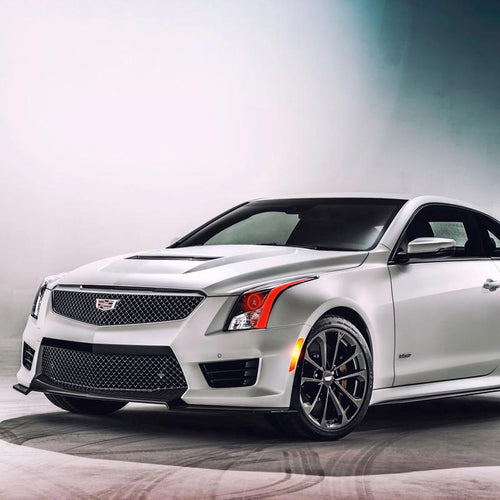 2013-2019 Cadillac ATS ATS-V Color-Chasing Halo & DRL Tube Kit