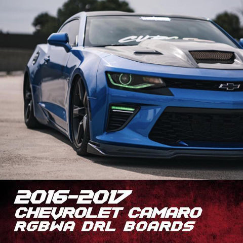 2016-2019 Chevrolet Camaro Color-Chasing/RGBW +A LED DRL Boards