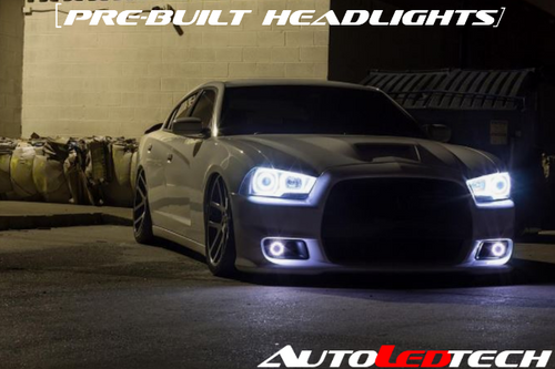 Pre-installed 2011-2014 Dodge Charger Halo Headlights (Projector)