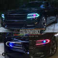2015-2018 Dodge Charger RGBW +A DRL Boards LED headlight kit  AutoLEDTech Colorwerkz Oracle Starry Night Flashtech