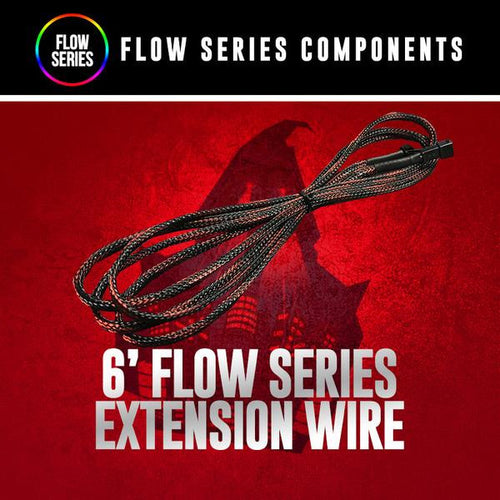 6' Flow Series Extension Wire LED color chasing headlight halo kit  AutoLEDTech & Colorwerkz