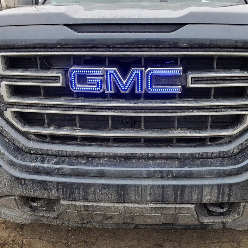 Illuminated GMC LED Emblem Logo (RGB/Flow Series)