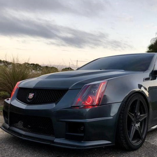 2009-2015 Cadillac CTS-V RGBW +A DRL Boards LED headlight kit AutoLEDTech Colorwerkz Oracle Lighting Trendz Flow Series Flashtech RGBHaloKits LED Concepts