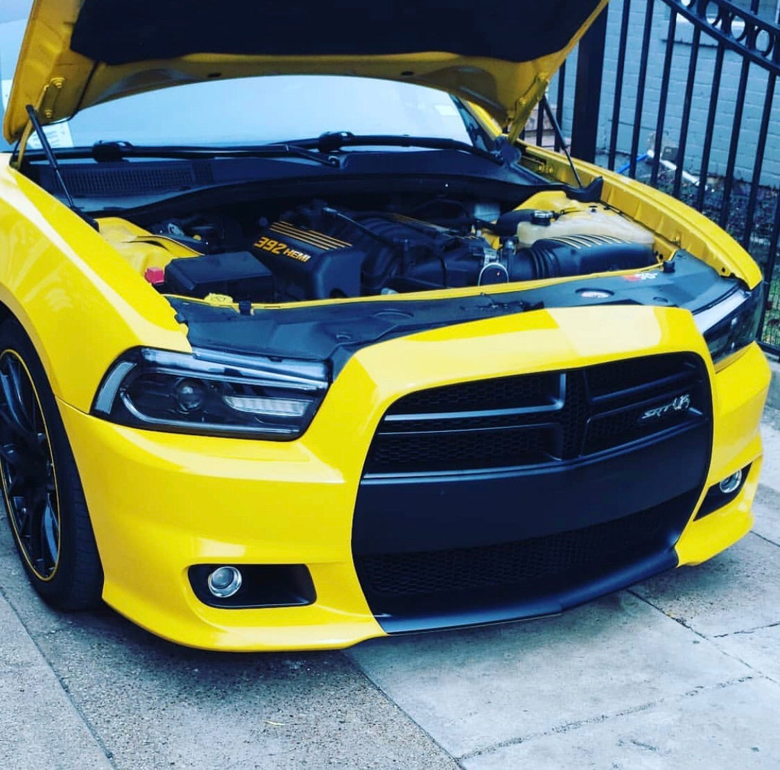 2011 2014 Dodge Charger Color Chasing Led Drl Projector Replacement He Autoledtech Com