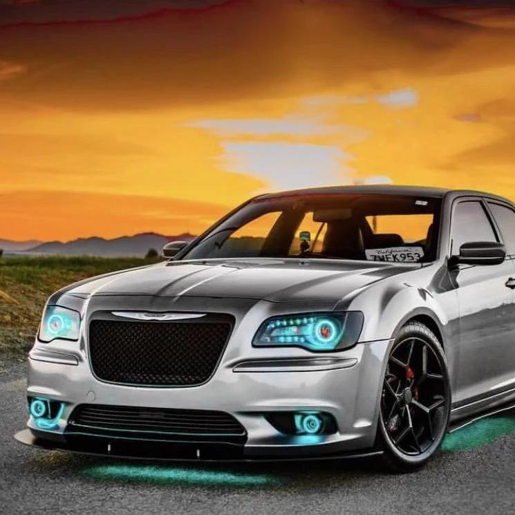 2011-2020 Chrysler 300 C/SRT Color-Chasing DRL Boards