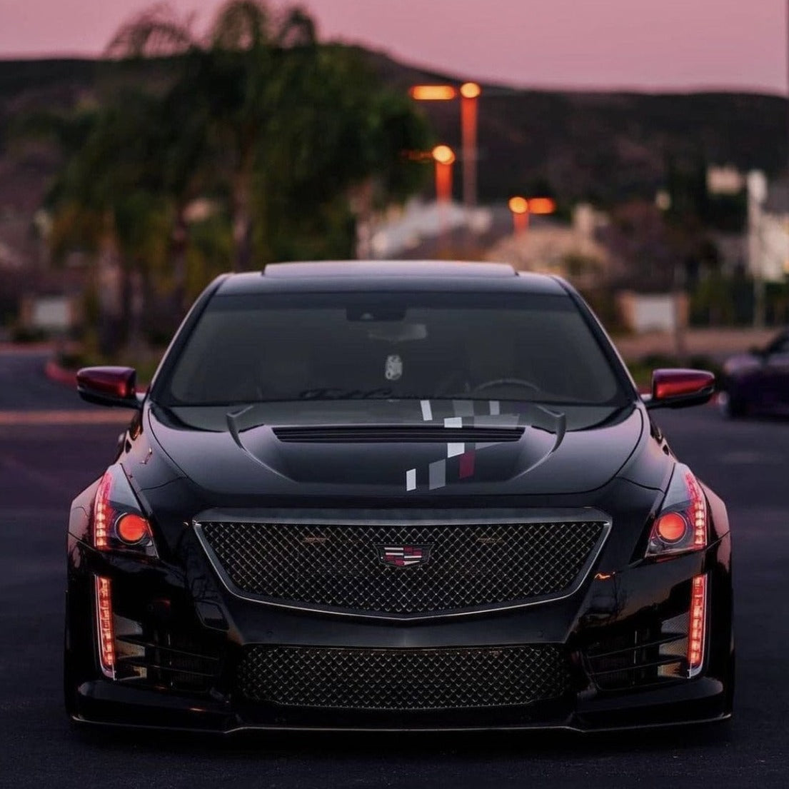 2014 2020 Cadillac Cts Cts V Rgbw Color Chasing Halo Drl Tube Kit Autoledtech Com
