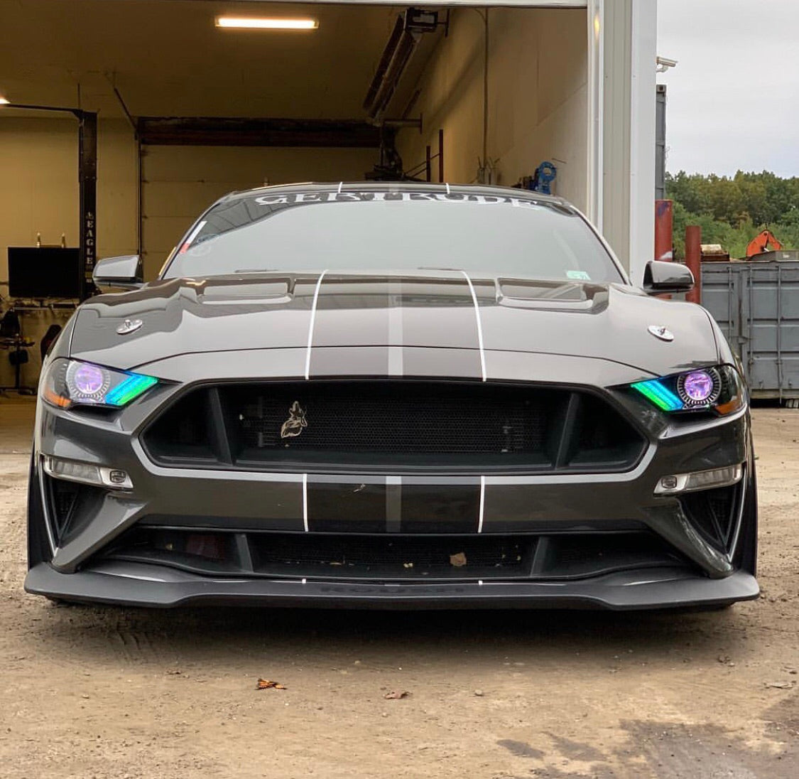 2018 2020 ford mustang rgbw color chasing rgbw a led drl boards autoledtech com 2018 2020 ford mustang rgbw color chasing rgbw a led drl boards