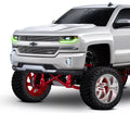 2016-2018 Chevrolet Silverado RGBW +A DRL Boards LED headlight kit  AutoLEDTech Colorwerkz Oracle Starry Night Flashtech