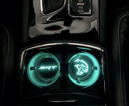 Color Changing RGB LED Illuminated Cup Holder Kit - Mopar
