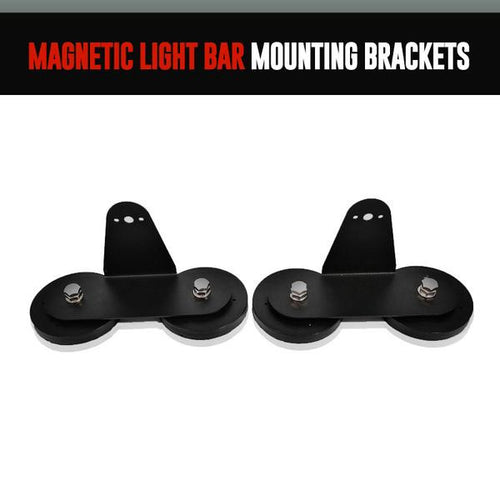 Magnetic Light Bar Mounting Brackets LED color chasing headlight halo kit  AutoLEDTech & Colorwerkz