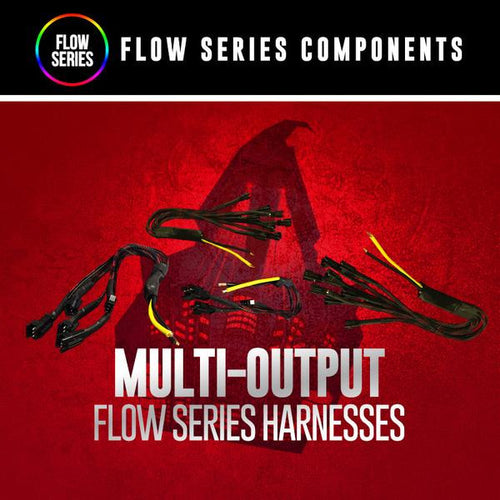 Flow Series Wiring Harnesses LED color chasing headlight halo kit  AutoLEDTech & Colorwerkz