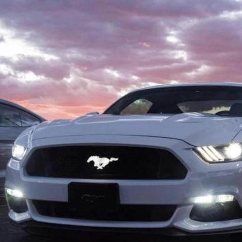 2010-2020 Ford Mustang Pony Color-Changing LED Grill Emblem Logo (RGB)