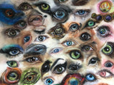 Custom eye artwork