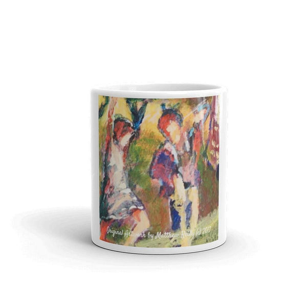 "Grateful Dead Mug ""Dancing Lovers"" by artist Matthew Reilly - Ozaukee Talent Online Payment Center"