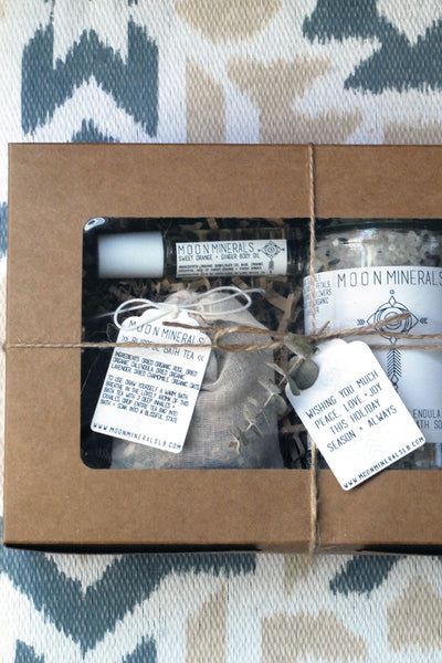 bliss bath gift set