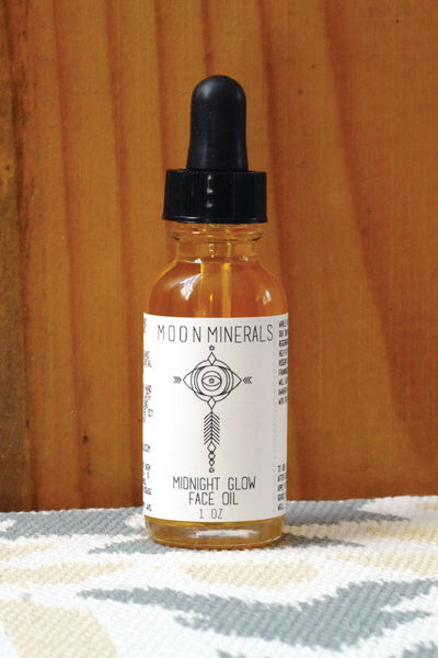midnight glow face oil