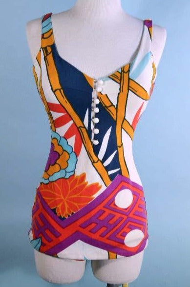 Vintage 60/'s Cole of California Swimsuit