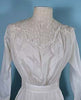 Antique white dress detail