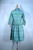 Vintage 50s Turquoise Shirtwaist Fit and Flare, Factor of Boston 26