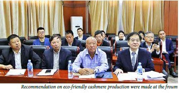 Cashmere forum suggests to establish joint high capacity plant