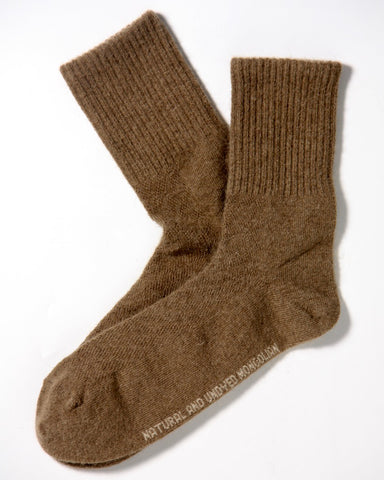 Camel wool socks - Homadic