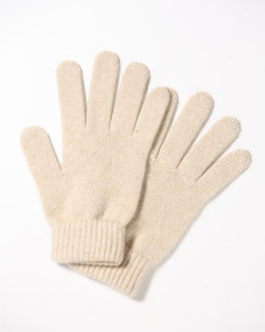 Cashmere gloves -natural - Homadic