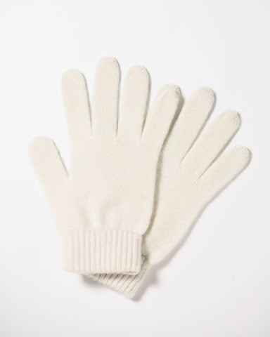 Cashmere gloves - white - Homadic