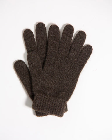 Yak wool gloves - dark - Homadic
