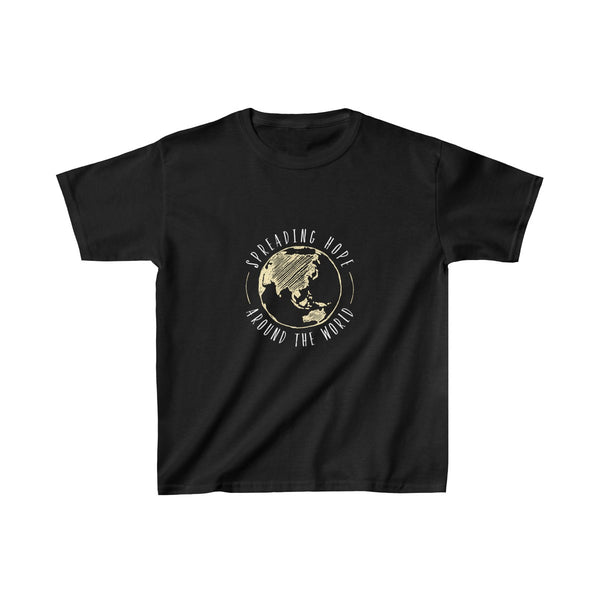 Spreading Hope Around the World Kids Tee